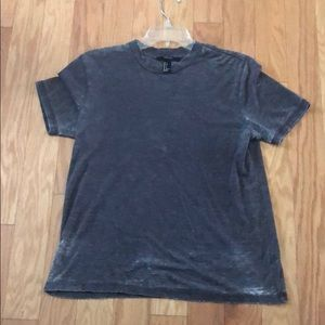 Grey distressed t-shirt